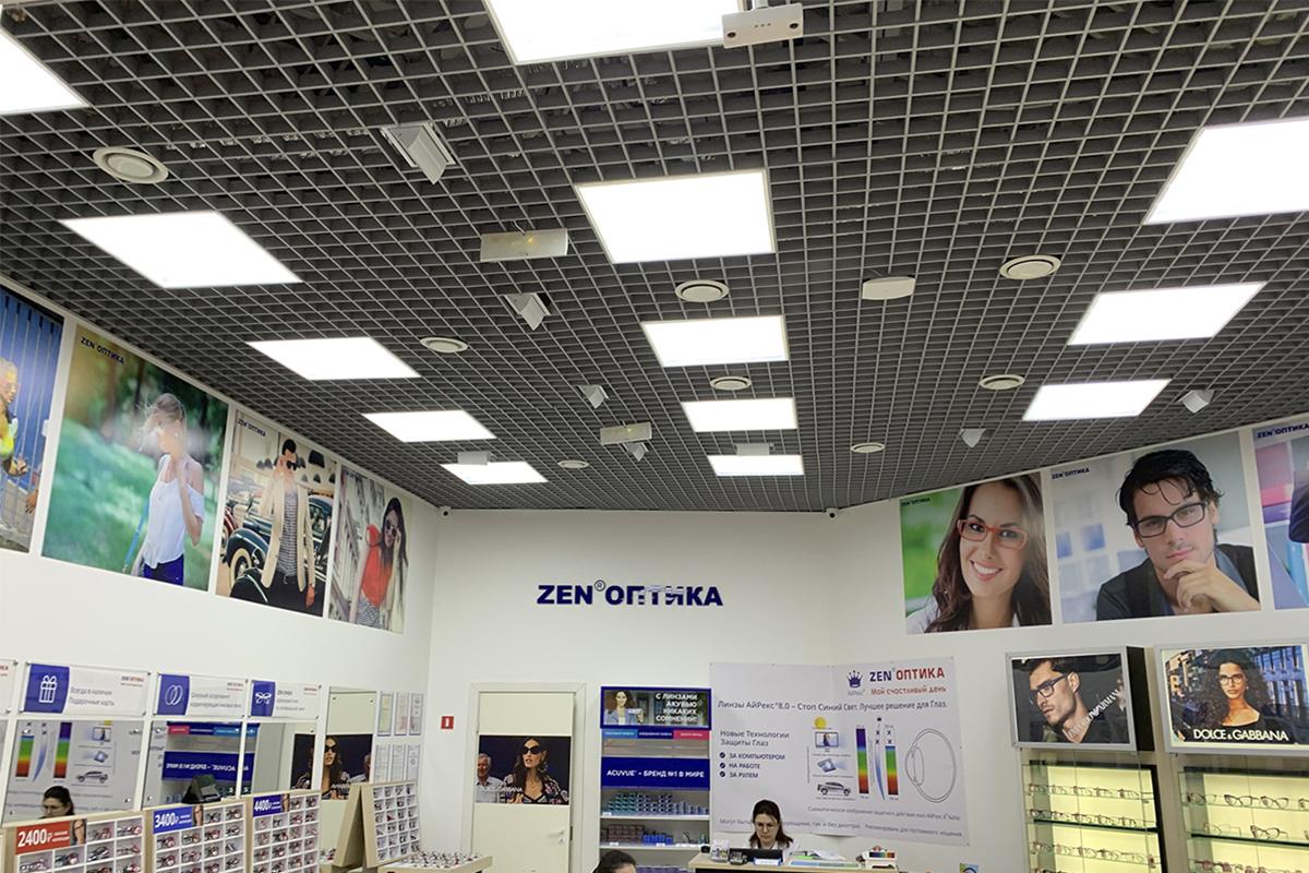 Светодиодные светильники Alumogips 595×595 IP-54