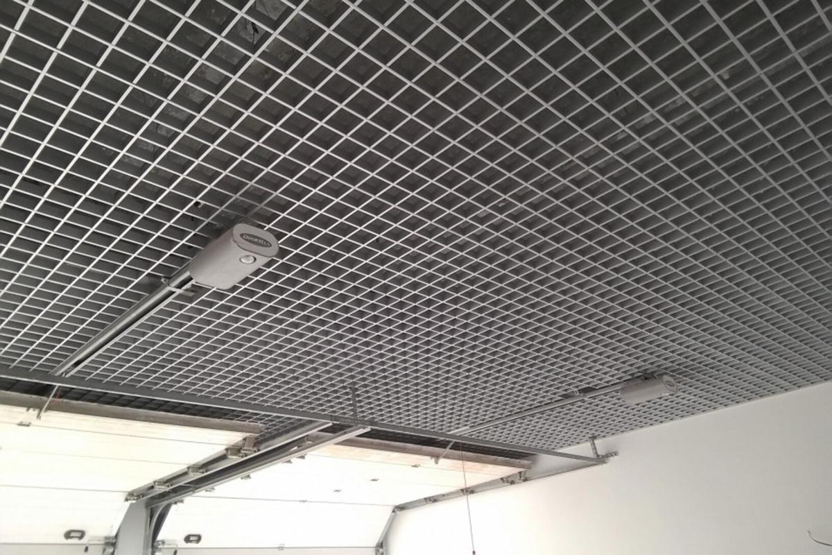 Грильято Стандарт 100×100 металлик серебристый