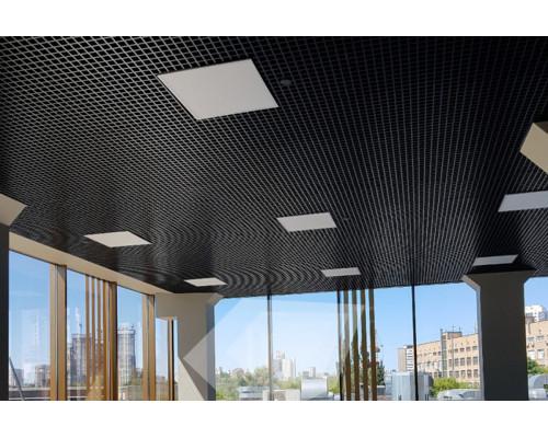 Потолок грильято Стандарт 50x50 Черный