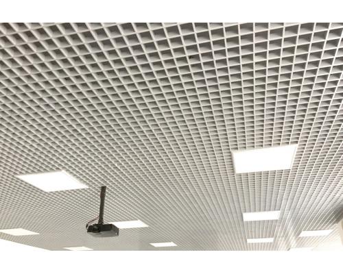 Потолок Потолок грильято Стандарт 75x75 белый