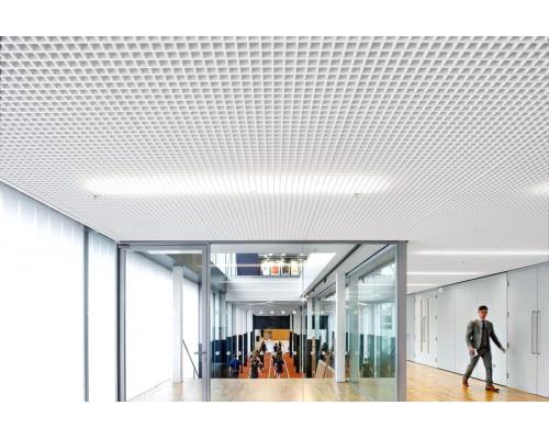 Потолок Потолок грильято 50x50 белый