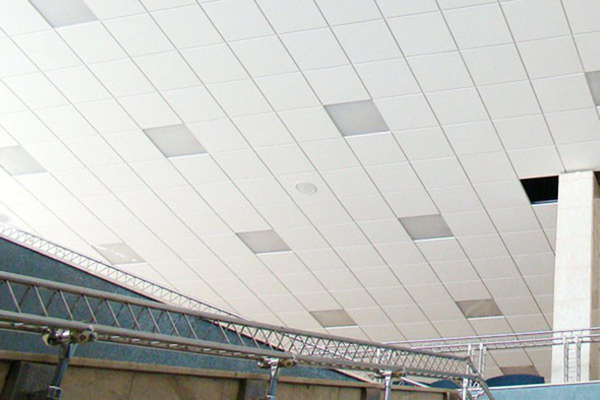 Кассетный потолок К45 Tegular T-24 белый матовый