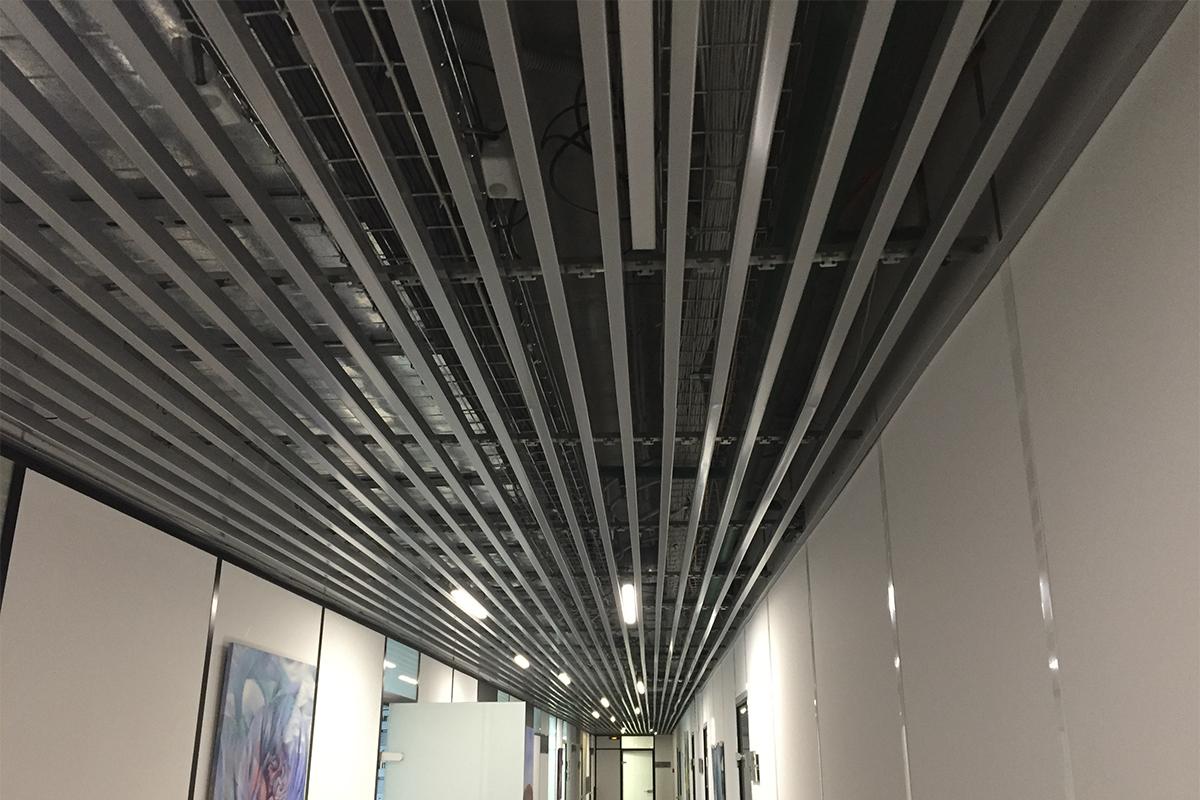 Кубообразный потолок 45x40x45
