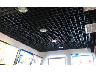 Грильято 150x150 чёрный в Кафе