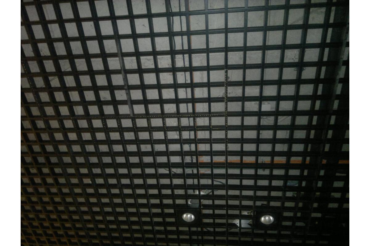 Грильято 150х150 черный