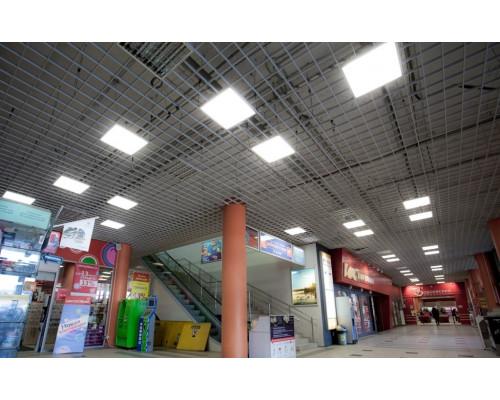 Потолок Грильято 200х200 металлик матовый