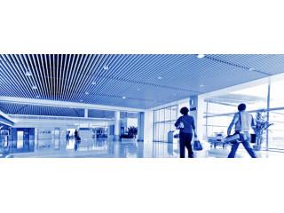 Грильято 300х75 в здании аэропорта
