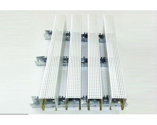 Акустический Реечный потолок AR-C WP 40/45 белый матовый