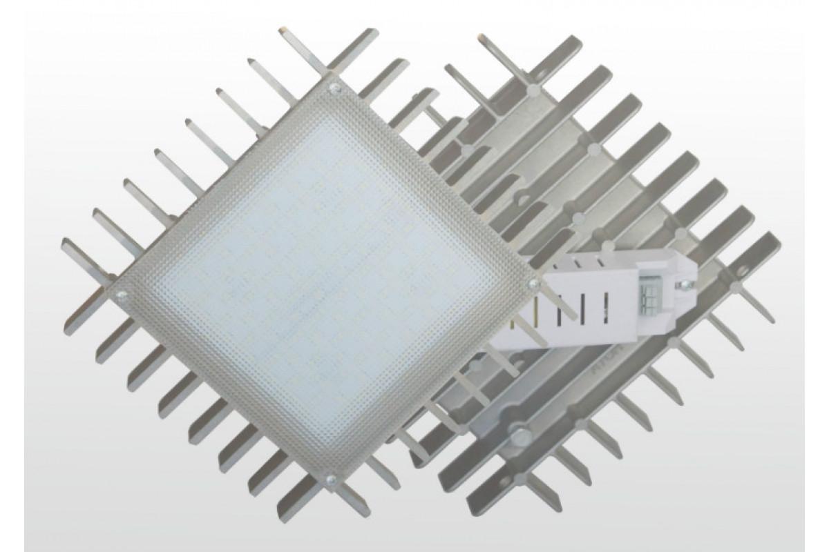 Комплект встраеваемых светильников Альбатрос Грильято 150x150