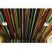 Цветной кубообразный реечный потолок - фото 1