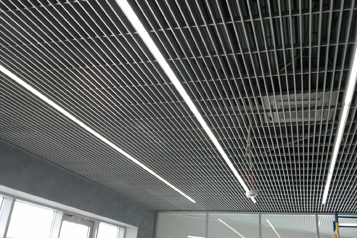 Грильято Жалюзи 300×50 металлик серебристый