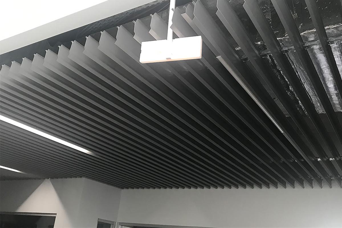 """Канадский  """"L"""" Дизайн Экранный потолок"""