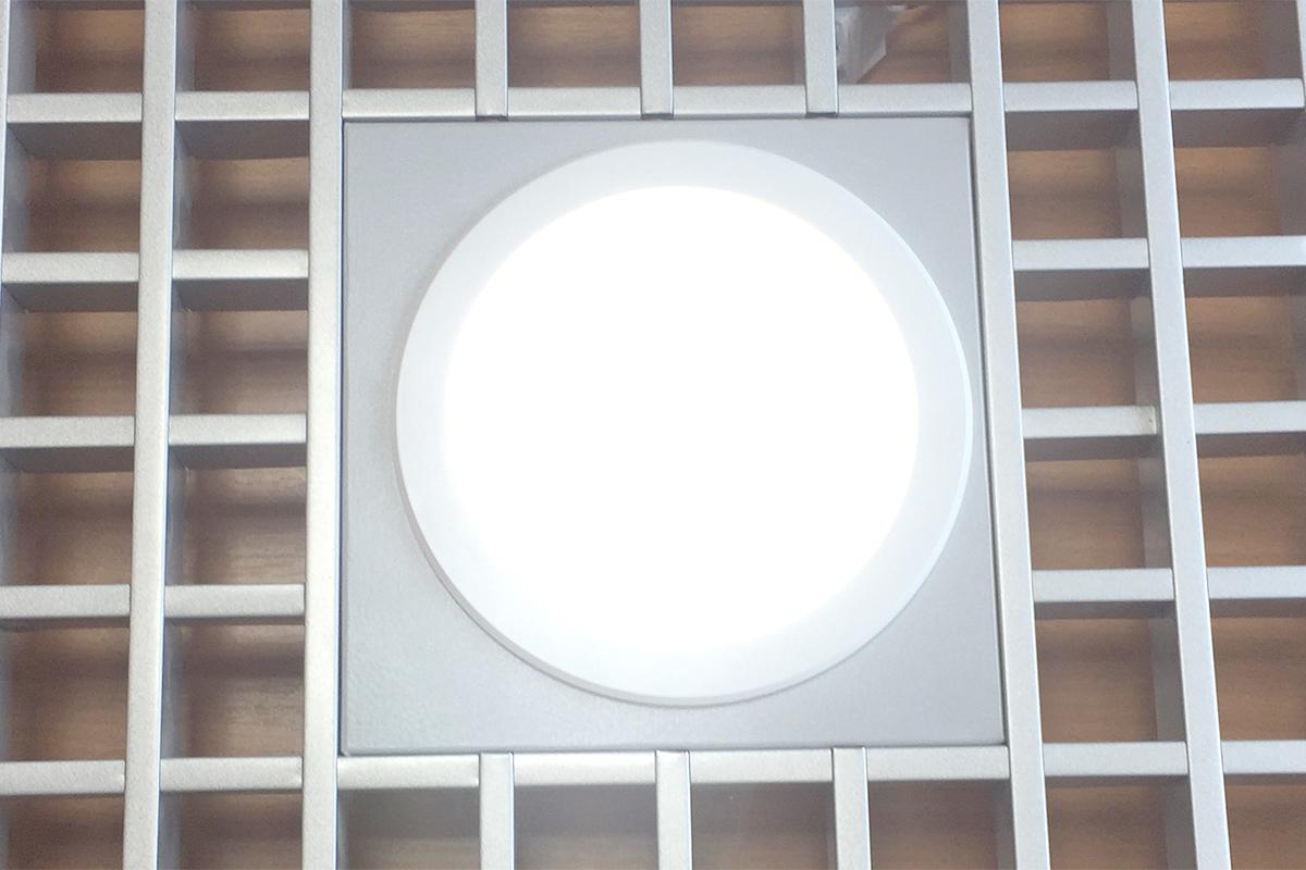 """Led светильник с корпусом """"Грильято"""" цвет белый"""