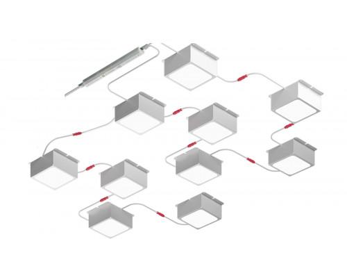 Светильник PIX10 для монтажа в ячейку Грильято
