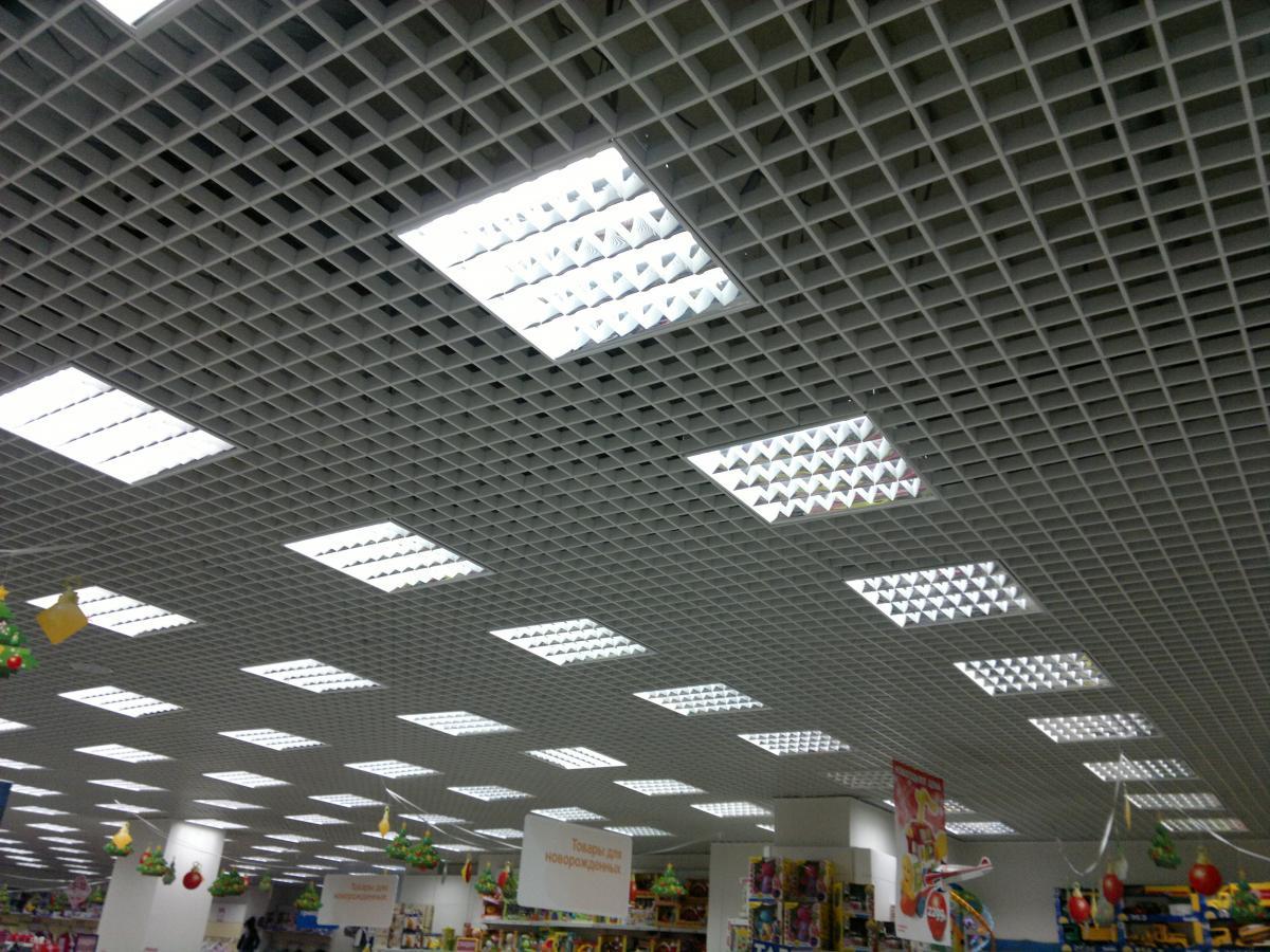 Растровые светодиодные светильники